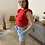 Thumbnail: Lady Blouse Red