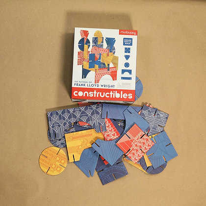 Constructibles. The patterns of Frank Lloyd Wright