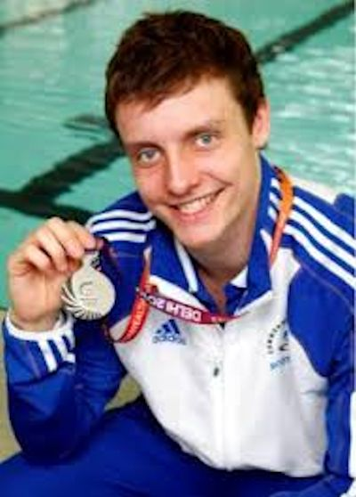 Jak Scott with medal
