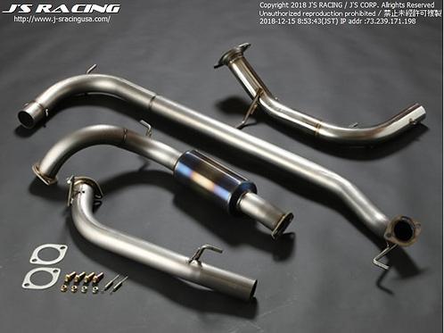J'S RACING FN2 CIVIC TYPE-R FX-PRO Titanium EX.System 70RR