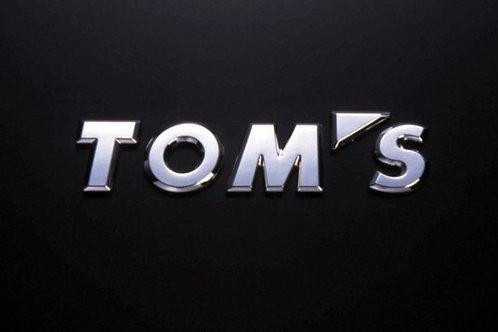 TOM'S Racing Logo Emblem (Chrome)