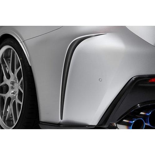 TOM'S Racing- Carbon Sheet (Rear Bumper) for 2015+ Lexus RCF