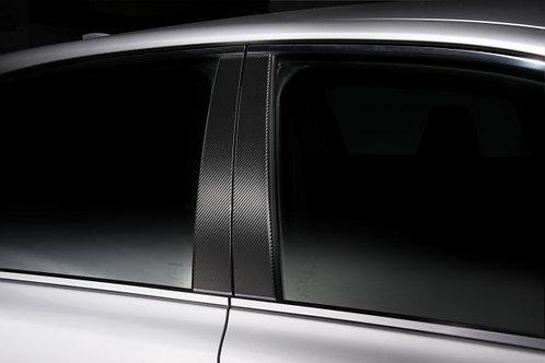 TOM'S Racing- Carbon Sheet (B-Pillar) for 2016+ Lexus GSF