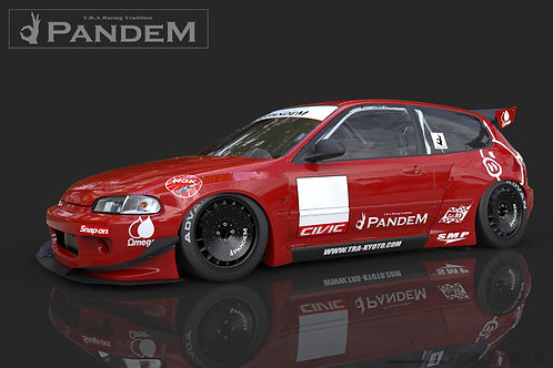 Full Pandem EG Honda Civic Wide-Body Aero Kit