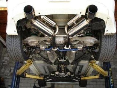 HKS Full Dual Muffler Infiniti G35 V35