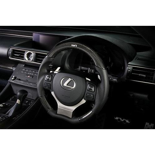 TOM'S Racing- Carbon Steering Wheel for Lexus (CT, GS, GSF, IS, NX, RC, RCF)