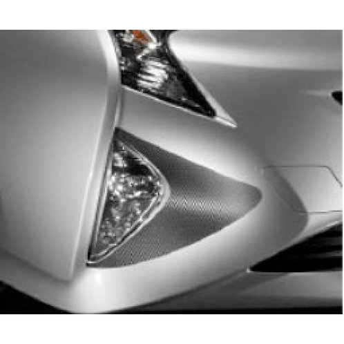 TOM'S Racing- Carbon Sheet (Front/Foglight) for