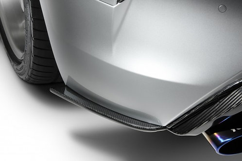 TOM'S Racing- Carbon Rear-Side Diffuser for 2018+ Lexus LC500
