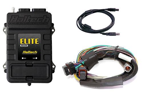 Haltech Elite 1000 + Universal Wire In Harness Kit