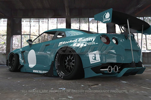 Full Rocket Bunny R35 GT-R Wide-Body Aero Kit With Wing