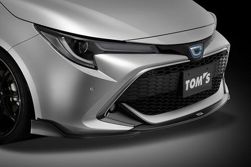 TOM'S Racing Front Diffuser for 2019+ Toyota Corolla Hatchback (FRP-Unpainted)