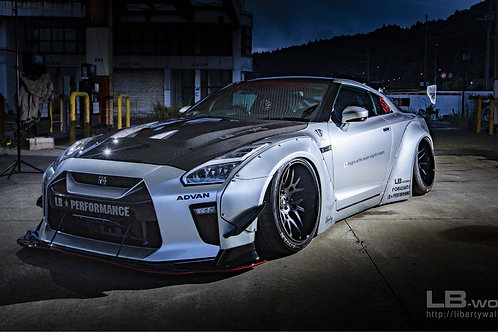 Liberty Walk GT-R R35 type1.5 Facelift Kit for LB-Works type 1