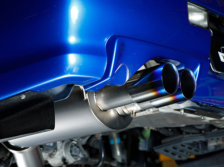 RH9 R34 90 titanium muffler | intecracing
