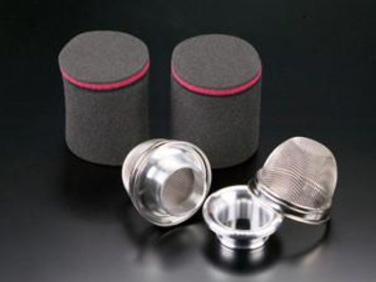 TODA RACING Air Filter & Trumpet Mesh Cover for Sports Injection Kit