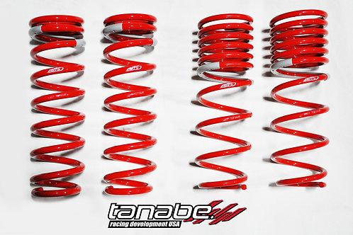 Tanabe Sustec DF210. SuperLow Down Form // Civic Coupe/Sedan 92-95/96-00