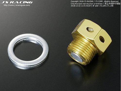J'S RACING S2000 AP1/AP2 Differential magnetic drain bolt