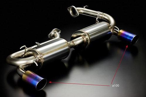 TODA RACING Honda NSX C32B (NA2 / type II) High Power Muffler System