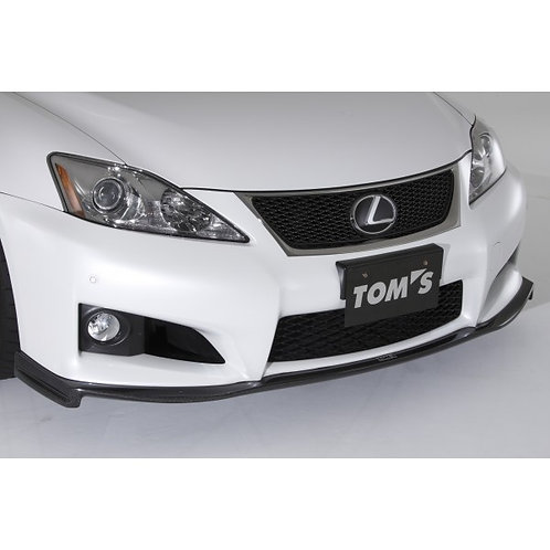 TOMS' Racing- Carbon Front Diffuser for 2008-2014 Lexus ISF