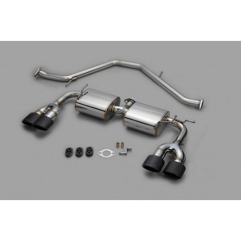 TOM'S Racing- Stainless Exhaust System for 2019+ Toyota Corolla Hatchback (Carbo