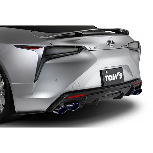 TOM'S Racing- Carbon Rear Bumper Diffuser for 2018+ Lexus LC500