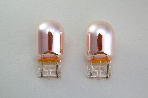 TOM'S Chrome Winker Bulb- T20 Wedge Bulb (12V21W) [1 pair]