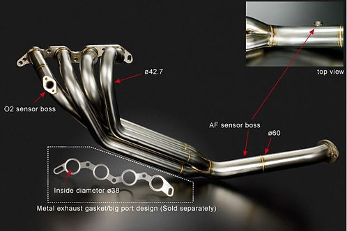 TODA Racing Toyota 4AG (AE86) Exhaust Manifold 4-1 Spec (4-1 SUS)
