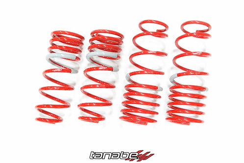 Tanabe Sustec DF210. SuperLow Down Form // Accord 4Cyl/Accord V6 98-02