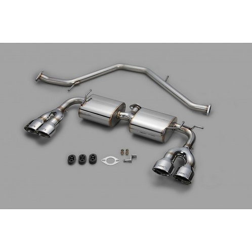 TOM'S Racing- Stainless Exhaust System for 2019+ Toyota Corolla Hatchback (Stain