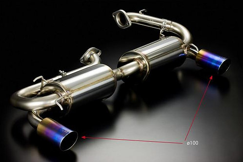 TODA RACING Honda NSX C32B (NA2 / type III) High Power Muffler System
