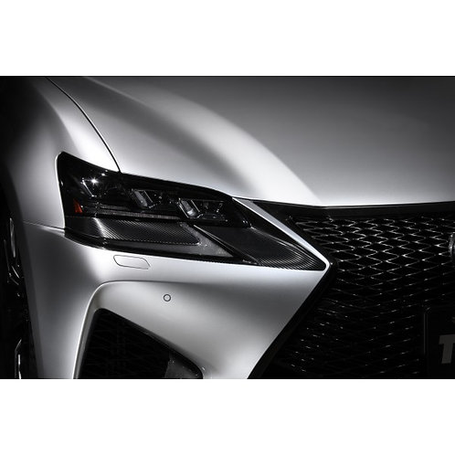 TOM'S Racing- Carbon Sheet (Headlight) for 2016+ Lexus GSF