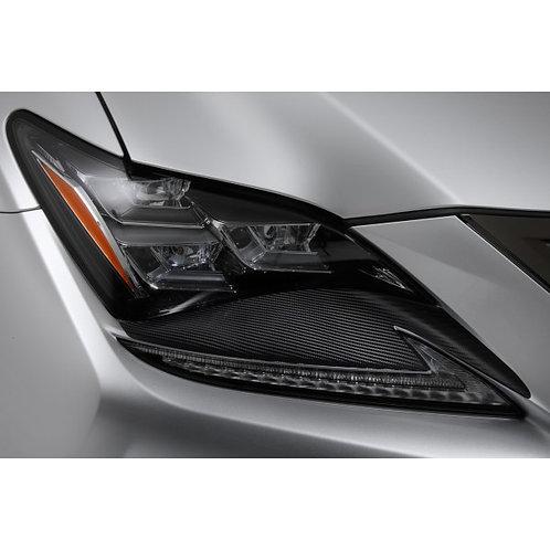 TOM'S Racing- Carbon Sheet (Headlight) for 2015+ Lexus RCF