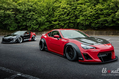 Liberty Walk lbNation Toyota86/Subaru BRZ