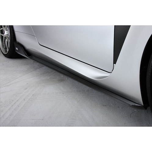 TOM'S Racing- Carbon Side Diffuser for 2015+ Lexus RCF
