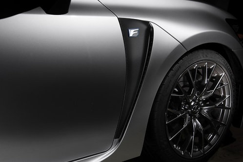 TOM'S Racing- Carbon Sheet (Front Fender) for 2016+ Lexus GSF