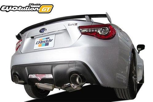 '17 Subaru BRZ / Toyota (ZN6) 86 EVOlution GT Exhaust