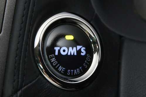 TOM'S Racing Push Start Button [Type 001] for Lexus & Toyota