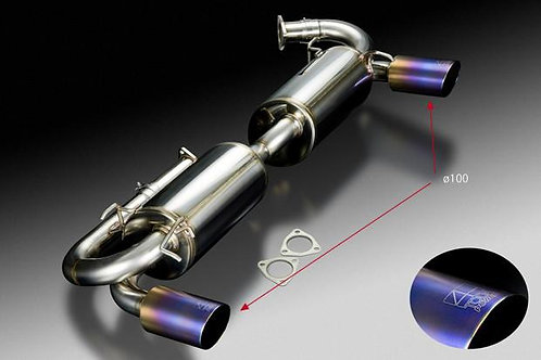 TODA RACING Honda NSX C30A (NA1 / type I) High Power Muffler System