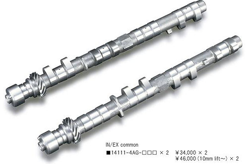 TODA RACING Toyota 4AG (16 Valve) High Power Profile Camshafts - For Inner Shi