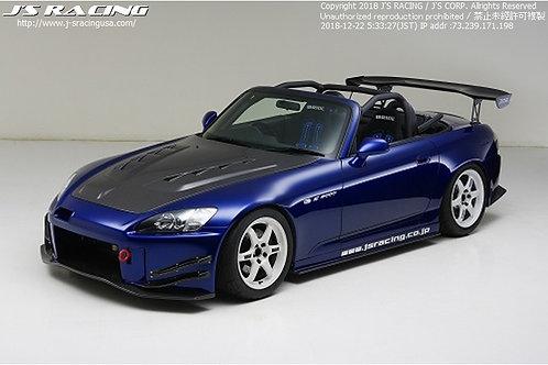J'S RACING S2000 AP1/AP2 Street ver. front bumper CFRP ver 2