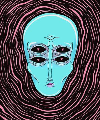 Alien Infatuation Print