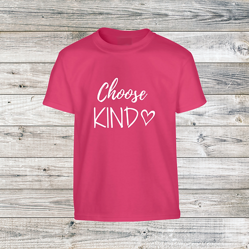 2021 ADULT Choose Kind T-Shirt