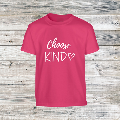 2021 YOUTH Choose Kind T-Shirt