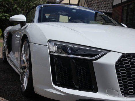 Audi R8 Valeting