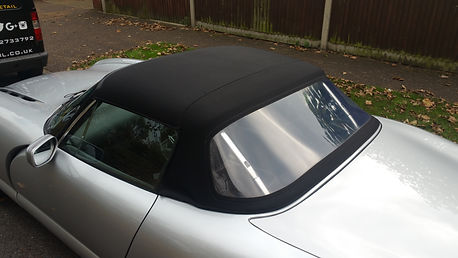 Convertible Top Reproofing