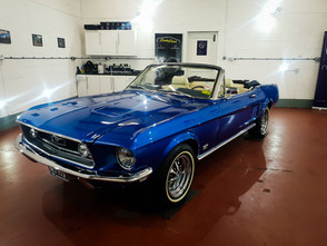 1967 Ford Mustang Detailing