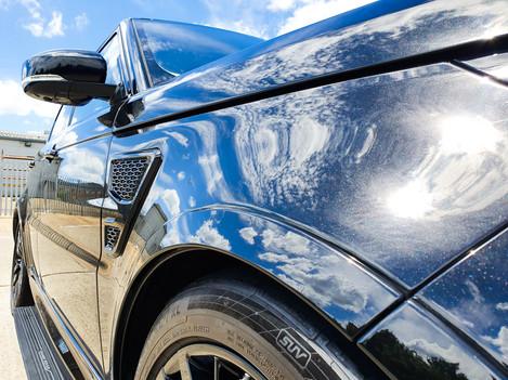 Range Rover SVR Valeting
