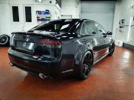 Audi RS4 Paint Correction
