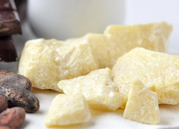 Beurre de Cacao Biologique Brut