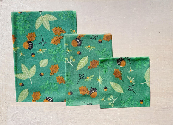 Lot de 3 Bee Wrap