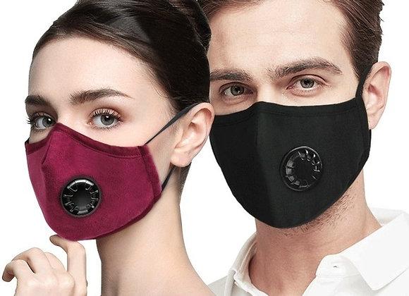 Masques de protection réutilisables - Avec Valves